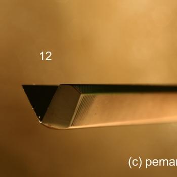 El perfil de la gubia 12