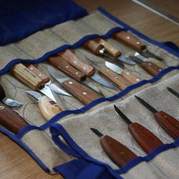 Colección cuchillos de Talla y Chip carving