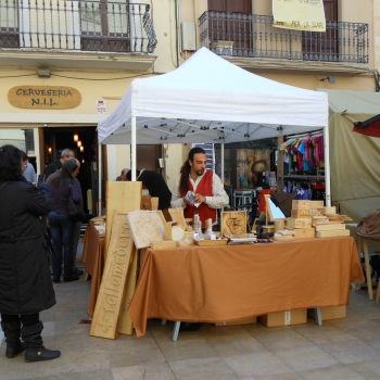 Tallamadera de Feria Medieval_1