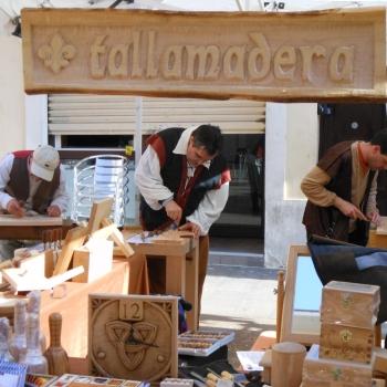 Tallamadera de Feria Medieval_2