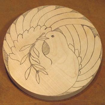 Plano y paso a paso para tallaruna paloma