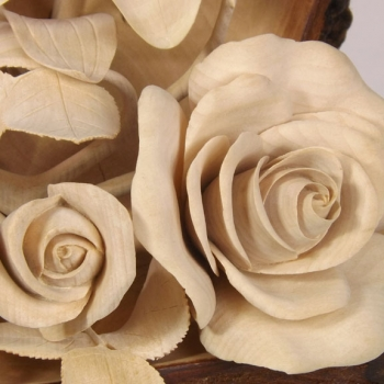 Composición de flores finas.
