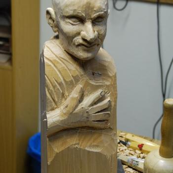 Homenaje a Ghandi