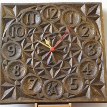 Reloj talla geométrica, samba