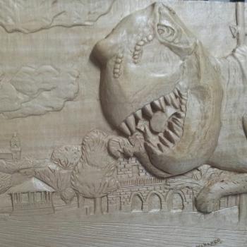 Un dinosaurio en mi ciudad