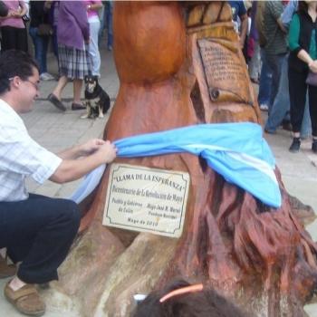 La Llama de la Esperanza - Inauguración por Gustavo Da Silva