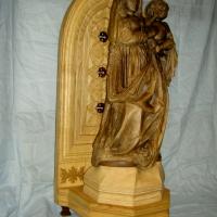 La Virgen y el Niño .