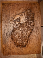 cabeza de leon heraldico