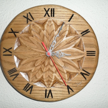 Reloj de castaño