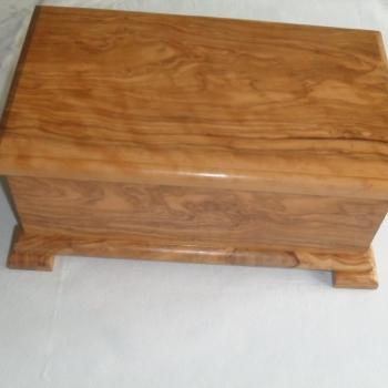 caja de olivo