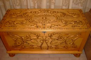 arca de pino suecia