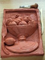 Ejercicio 4.Modelo de arcilla de un frutero