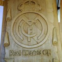 ESCUDO REAL MADRID C.F., por Pablo Cabria