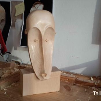 Máscara Africana Tallada por Francisco_22