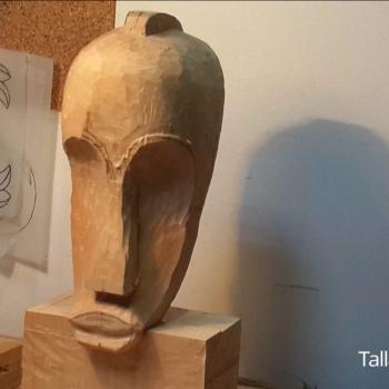 Máscara Africana Tallada por Francisco_25