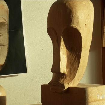 Máscara Africana Tallada por Francisco_27