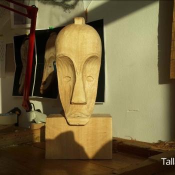 Máscara Africana Tallada por Francisco_31