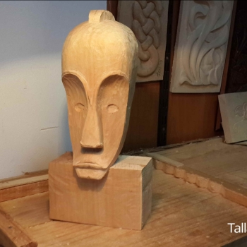 Máscara Africana Tallada por Francisco_32