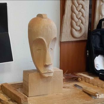 Máscara Africana Tallada por Francisco_33